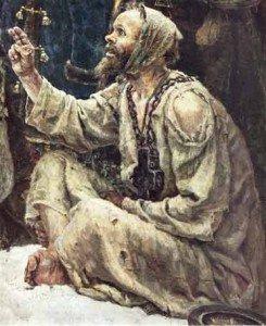 """В.И. Суриков (1848-1916) """"Боярыня Морозова"""""""