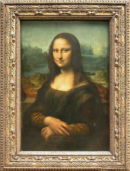 Мона Лиза – Леонардо да Винчи