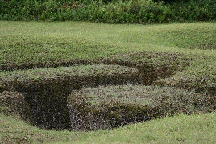 Марианские острова - обиталище древних великанов