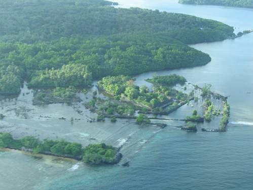 архипелаг Нан Мадол с высоты птичьего полета