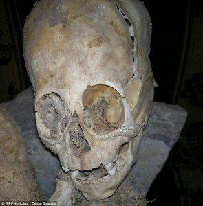 Загадочная перуанская мумия