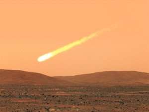 Удар кометы может сделать Марс похожим на Землю