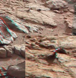 Марсоход Curiosity обнаружил на Марсе кусок железа
