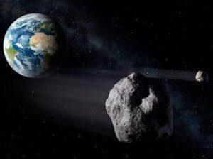 Каменный астероид в феврале 2013 г. пройдет над Землей