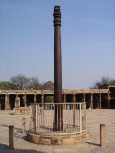 Железный столб в Индии