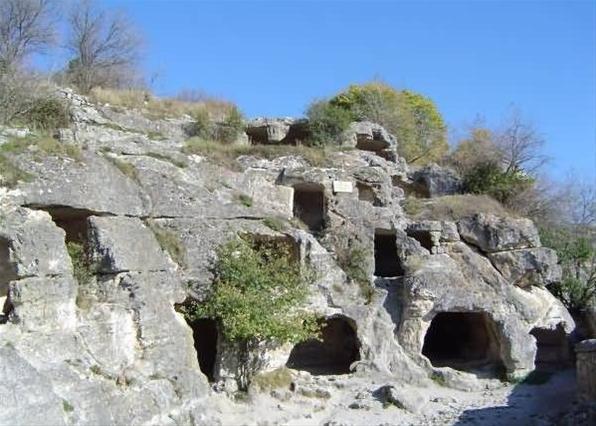 Подземелья под Кырк-ор