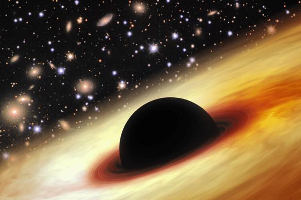 Обнаружена самая большая и древняя черная дыра