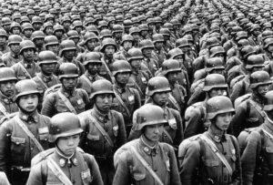 3000 китайских солдат