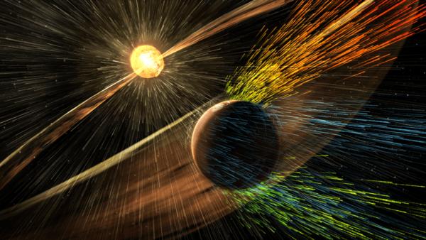 выдувание атмосферы Марса