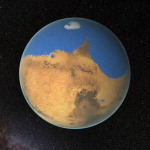молодой Марс