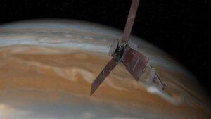 Juno, Юнона, за пять лет достиг орбиты Юпитера