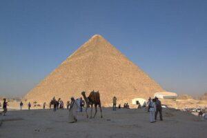 Строительство египетских пирамид
