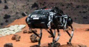 Прыгающий робот создан для поверхности Луны