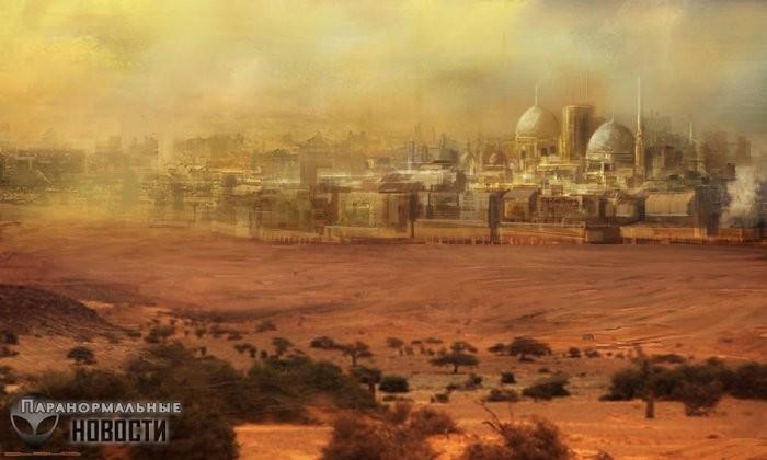 Прекрасный Убар – песчаная Атлантида пустыни