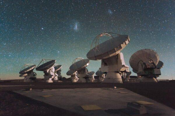 Впервые получен детальный снимок колыбели гигантской звезды