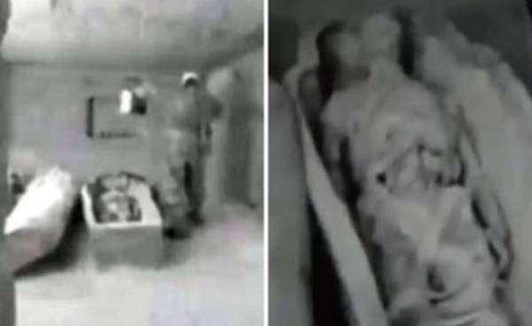 Сотрудники КГБ нашли в Египте странную мумию