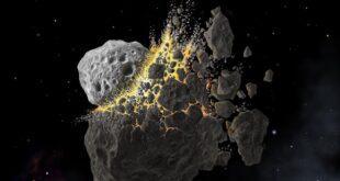 Столкновение астероидов привело к ледниковому периоду на Земле
