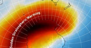 vnezapnoe stratosfernoe poteplenie nad juzhnym poljusom temperatura bolee chem na 40 degc vyshe normy bf9a996