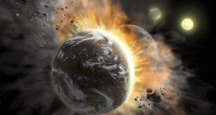 Зафиксировано столкновение экзопланет