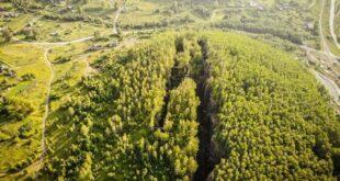 Разломы в горах Урала уже видны из космоса