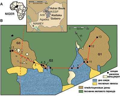 10 тысяч лет назад в Сахаре жили великаны