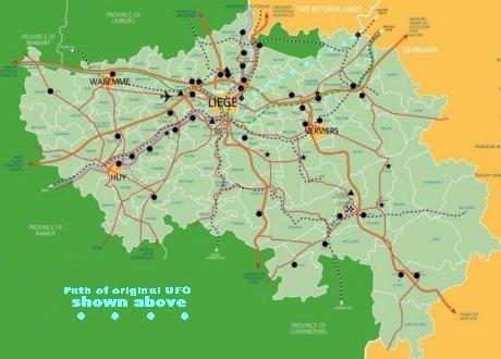 Бельгийский инцидент нашествия НЛО в 1989-1990 годах