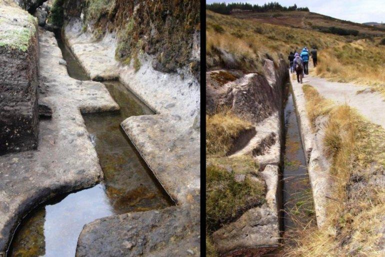 Невероятный акведук в Кумбе-Майо, Перу