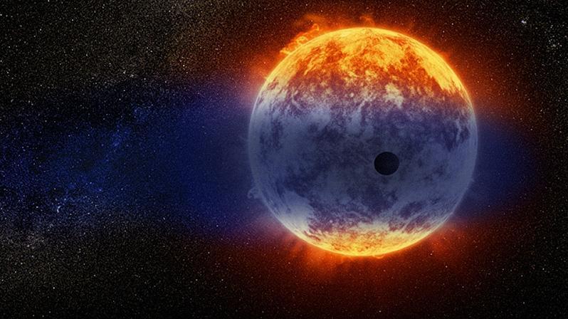 Астрономы обнаружили обнаженное ядро экзопланеты
