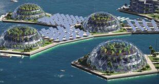 Плавучие города - мечта богачей