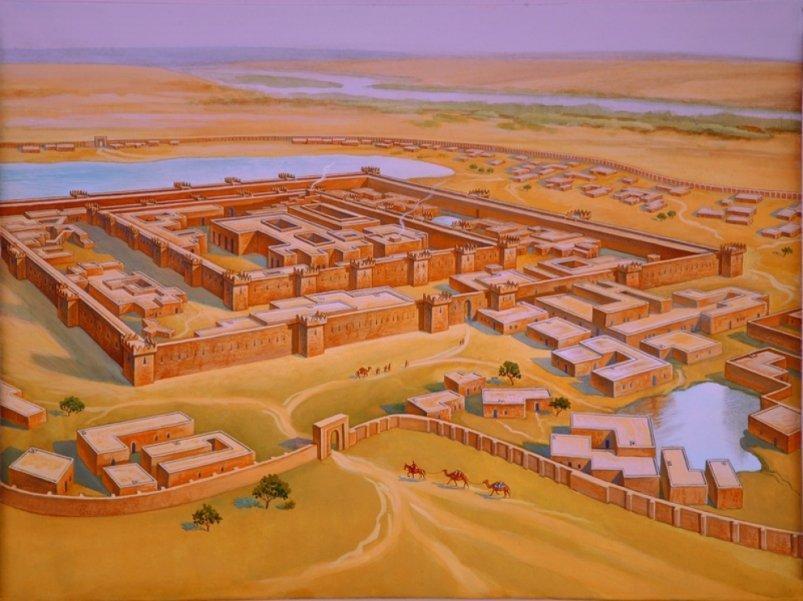 Маргуш: цивилизация раскаленных песков