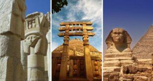 10 старейших сооружений из прошлого