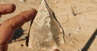 В Израиле найдено множество кремневых орудий возрастом 100 тысяч лет