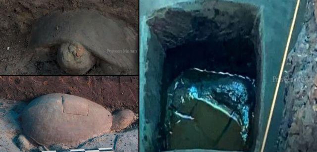 В Камбодже обнаружили древний хрустальный радиопередатчик внутри каменной черепахи