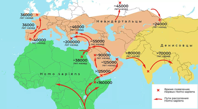 Война людей и неандертальцев